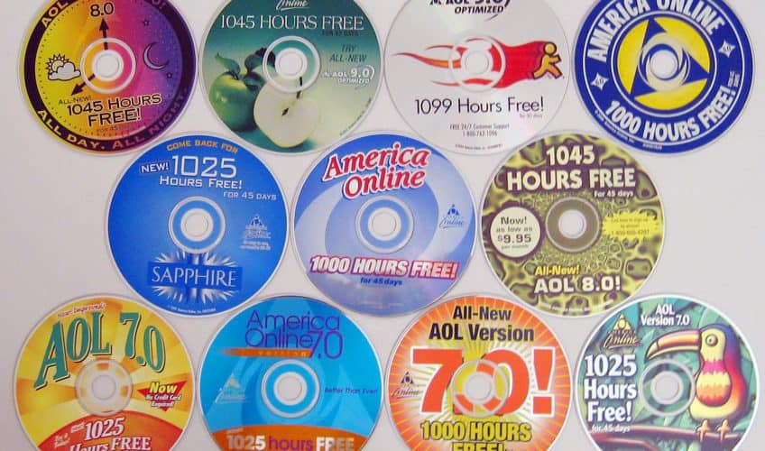 CDs para acessar a internet