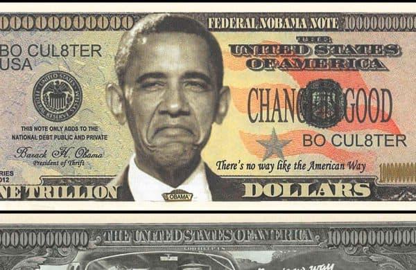Obamacoin: a moeda de U$1 trilhão que quase existiu.