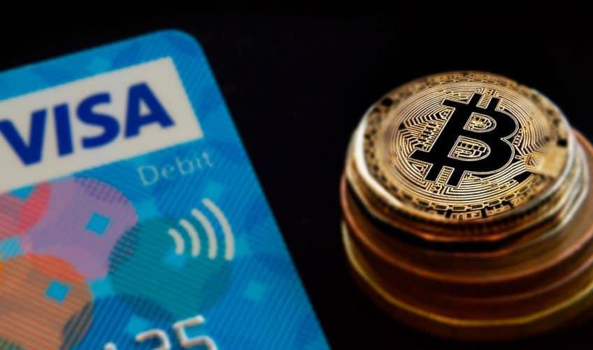 visa e bitcoin