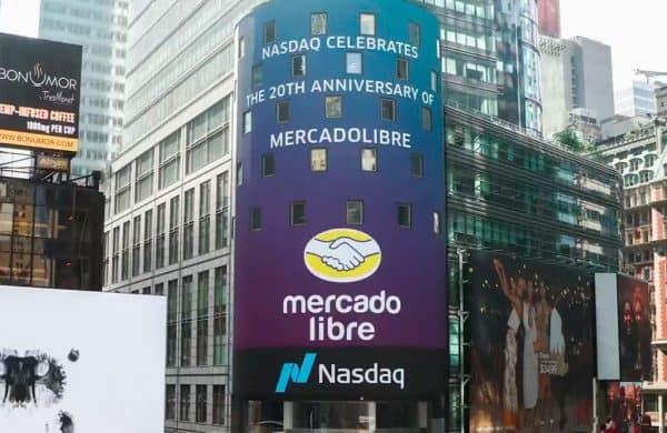 Mercado libre na Nasdaq 100