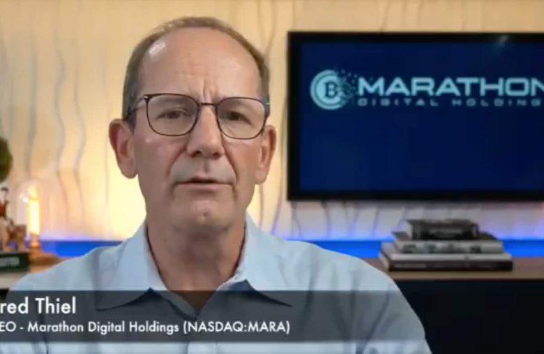 CEO da Marathon Digital Holdings.